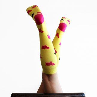 Baret caña alta - Calcetines de algodón mujer