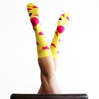 Baret caña media - Calcetines de algodón mujer