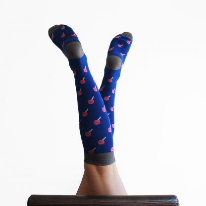 Cruyff caña alta - Calcetines divertidos mujer