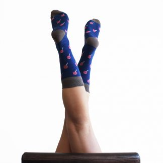 Cruyff caña media - Calcetines divertidos mujer