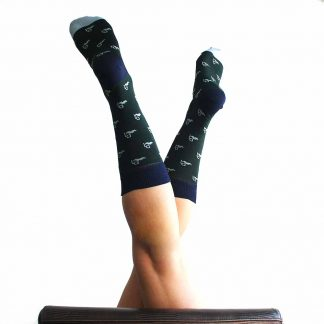 Dalí caña media - Calcetines originales mujer