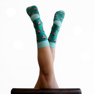 Gila caña media - Calcetines divertidos mujer