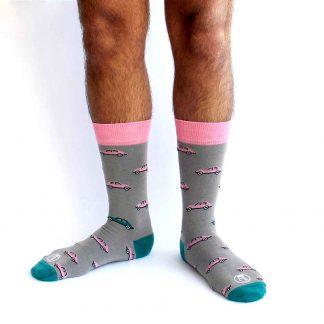 McQueen caña media - Calcetines divertidos hombre