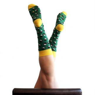Mr Bellota caña media - Calcetines de algodón mujer