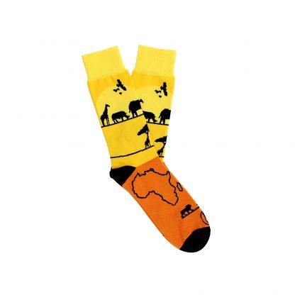 Sawadogo caña media - Calcetines de algodón