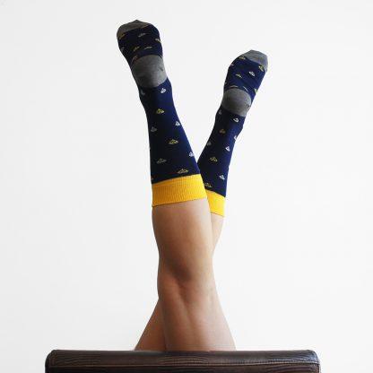 Sendler caña media - Calcetines originales mujer