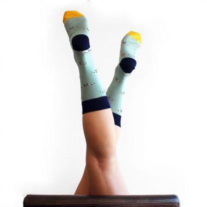 Stigler caña media - Calcetines originales mujer