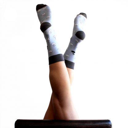 Zendal caña media - Calcetines de algodón mujer