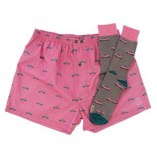Comprar pack de calcetines y calzoncillos hombre y mujer divertidos hechos en España