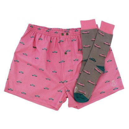 Comprar pack de calcetines y calzoncillos hombre y mujer divertidos - copia